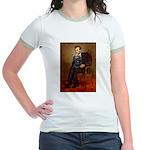 Lincoln / Cocker Jr. Ringer T-Shirt