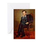 Lincoln / Cocker Greeting Cards (Pk of 20)