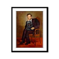 Lincoln / Cocker Framed Panel Print