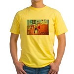 Room/Cocker (Parti) Yellow T-Shirt