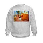 Room/Cocker (Parti) Kids Sweatshirt