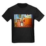 Room/Cocker (Parti) Kids Dark T-Shirt