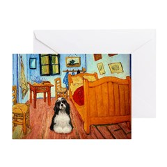 Room/Cocker (Parti) Greeting Cards (Pk of 10)