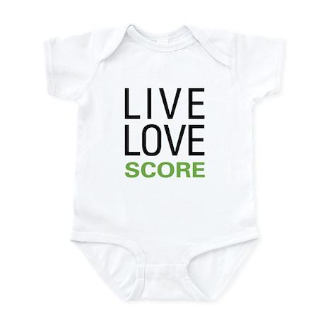 Live Love Score Infant Bodysuit