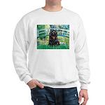 Bridge / Black Cocker Spaniel Sweatshirt