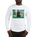 Bridge / Black Cocker Spaniel Long Sleeve T-Shirt