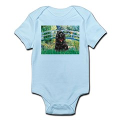 Bridge / Black Cocker Spaniel Infant Bodysuit