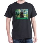 Bridge / Black Cocker Spaniel Dark T-Shirt