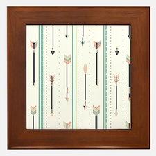 Arrows Framed Tile