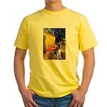Cafe / G Shepherd Yellow T-Shirt