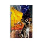 Cafe / G Shepherd Rectangle Magnet (10 pack)