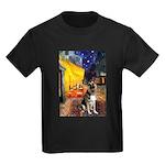 Cafe / G Shepherd Kids Dark T-Shirt