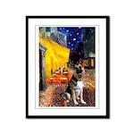 Cafe / G Shepherd Framed Panel Print