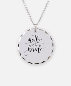 Cute Mother of the bride wedding Necklace
