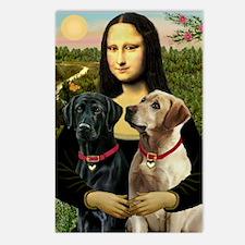 Mona / Labrador Postcards (Package of 8)
