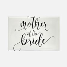 Mother of the Bride Typography Magnets
