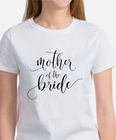 Mother of the Bride Typography T-Shirt