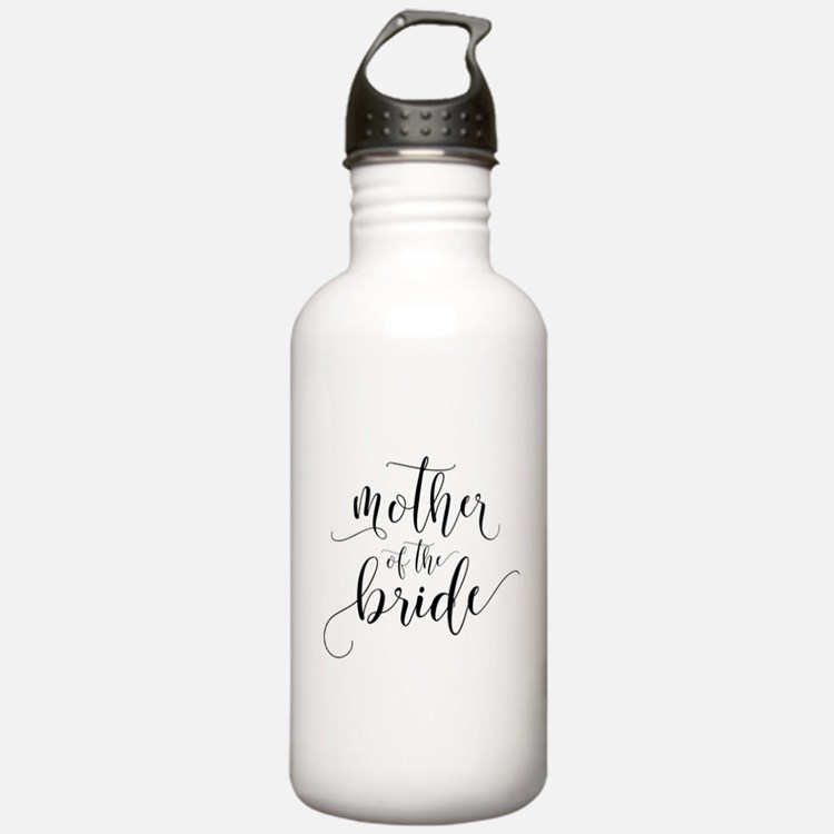 Mother of the Bride Ty Water Bottle