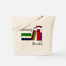LibraryBooksTote.png Tote Bag