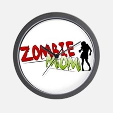 Zombie Mom Wall Clock