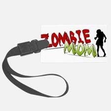 Zombie Mom Luggage Tag