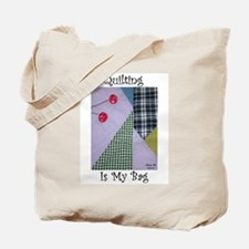 QuiltingTote.jpg Tote Bag