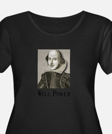 Will Power Plus Size T-Shirt