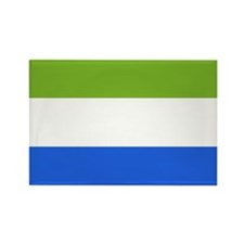 Sierra Leone Rectangle Magnet (10 pack)