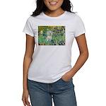 Irises / Westie Women's T-Shirt