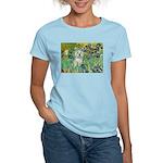 Irises / Westie Women's Light T-Shirt