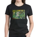 Irises / Westie Women's Dark T-Shirt