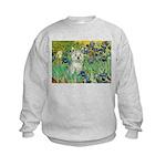 Irises / Westie Kids Sweatshirt