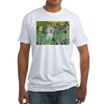 Irises / Westie Fitted T-Shirt