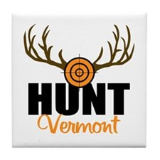 Hunt Vermont Tile Coaster