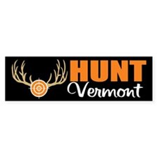 Hunt Vermont Bumper Bumper Sticker
