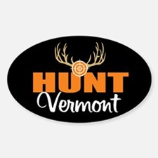 Hunt Vermont Oval Decal