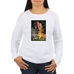 Fairies / G Schnauzer Women's Long Sleeve T-Shirt