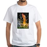 Fairies / G Schnauzer White T-Shirt