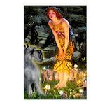 Fairies / G Schnauzer Postcards (Package of 8)