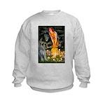 Fairies / G Schnauzer Kids Sweatshirt