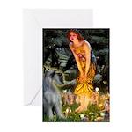 Fairies / G Schnauzer Greeting Cards (Pk of 10)
