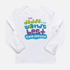 Crane Operator Gifts fo Long Sleeve Infant T-Shirt