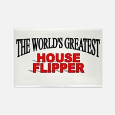 """The World's Greatest House Flipper"" Rectangle Mag"