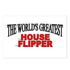 """""""The World's Greatest House Flipper"""" Postcards (Pa"""