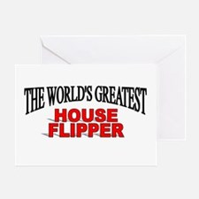 """""""The World's Greatest House Flipper"""" Greeting Card"""