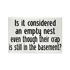 Empty Nest Rectangle Magnet