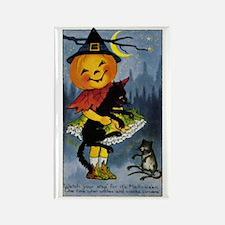 Halloween 34 Rectangle Magnet