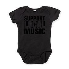 Unique Musicians Baby Bodysuit
