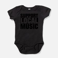 Funny Support Baby Bodysuit