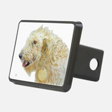 Cream Labradoodle 2 Hitch Cover